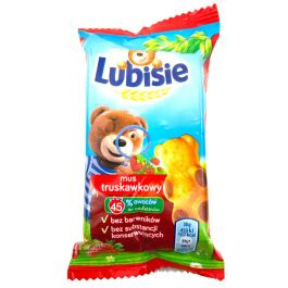Lubisie Mini Teddy Bear Strawberry Cookie Biscuit - Free ... Lubisie