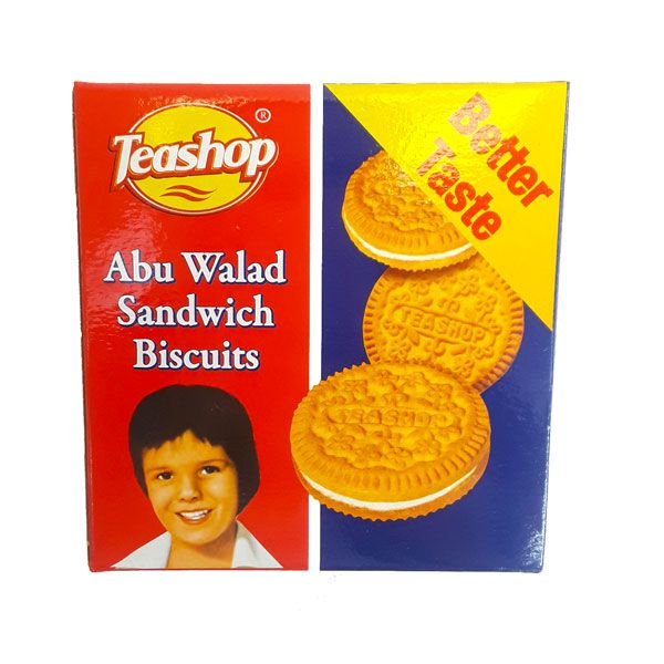 Teashop Abu Walad Sandwich Biscuits