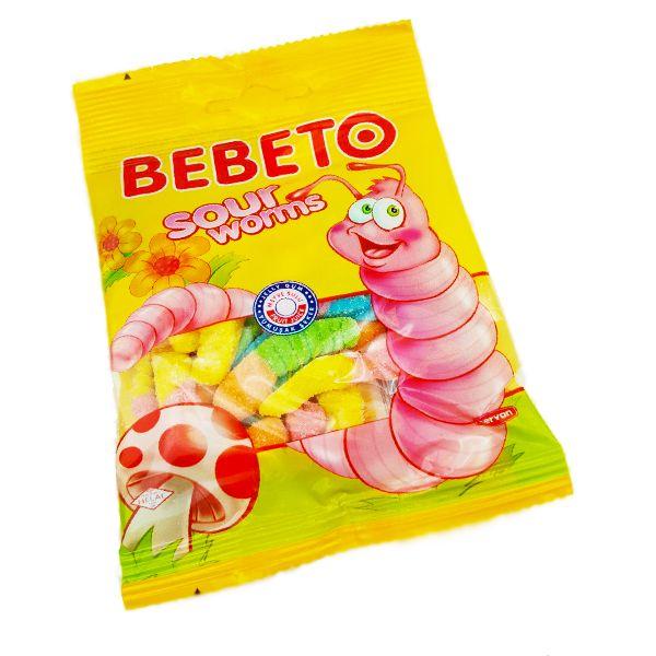 bebeto sour worms free shipping over 25 munchpak