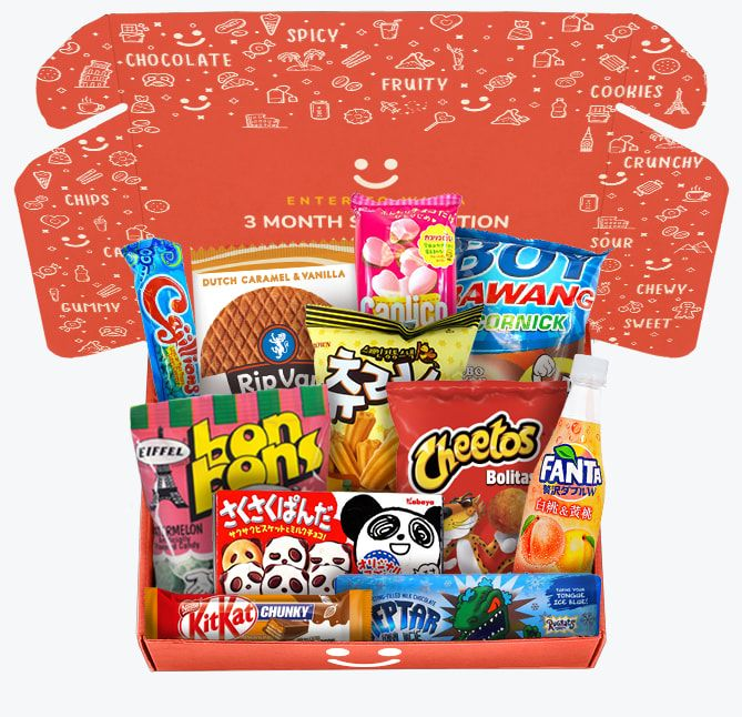 MunchPak food and snacks subscription box