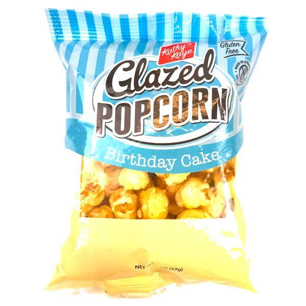 Kathy Kaye Glazed Popcorn Birthday Cake Flavor