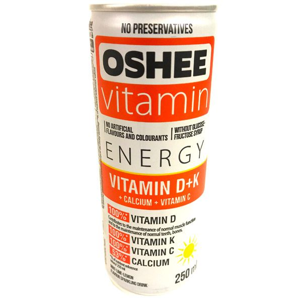 Oshee Vitamin Energy Drink With Vitamins D+K