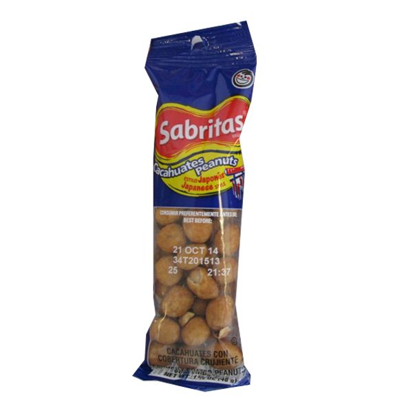 Sabritas Cacahuates Peanuts Japones Flavor Free Shipping Over 25