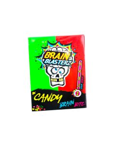 Brain Blasterz Apple & Strawberry Sour Candy