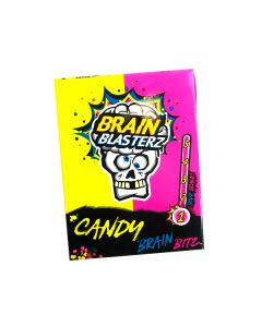 Brain Blasterz Lemon & Raspberry Sour Candy