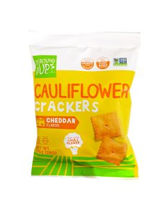 From The Ground Up Cauliflower Crackers Cheddar Flavor