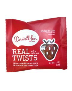 Darrell Lea Real Twists Strawberry Candy