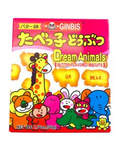 Ginbis Dream Animals Biscuits Butter Flavored