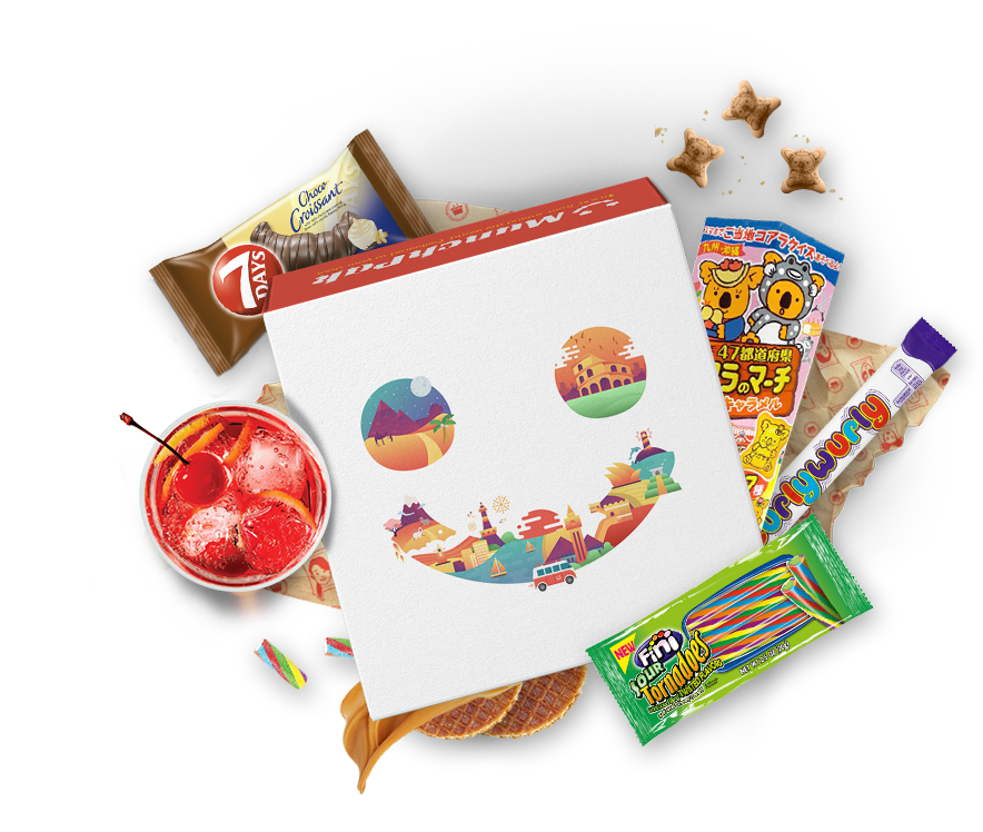Munchpak Popular Candy Snacks From Around The World Delivered