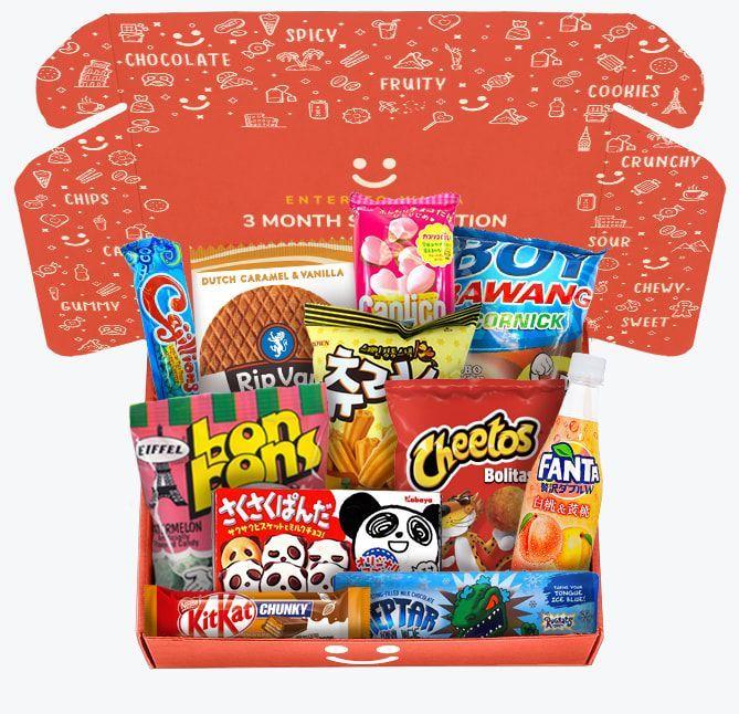 international snack box munchpak