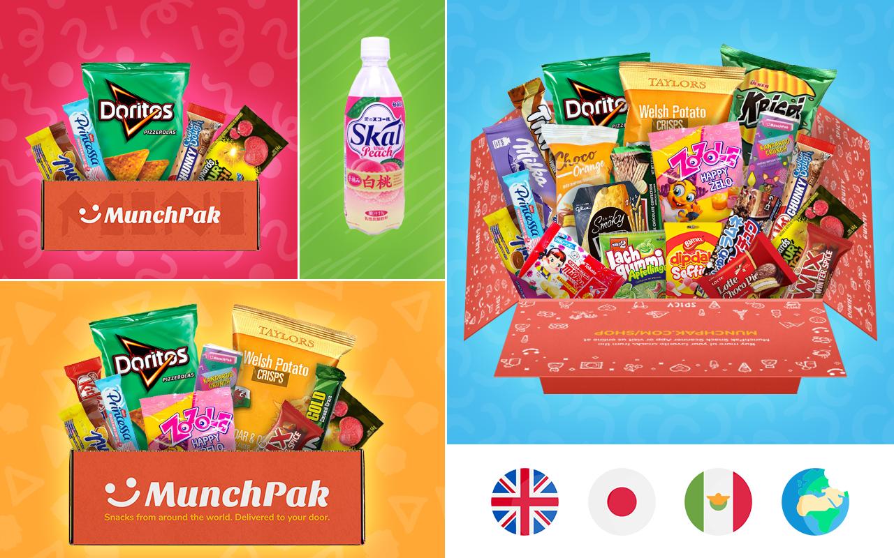 snacks from around the world december munchpak